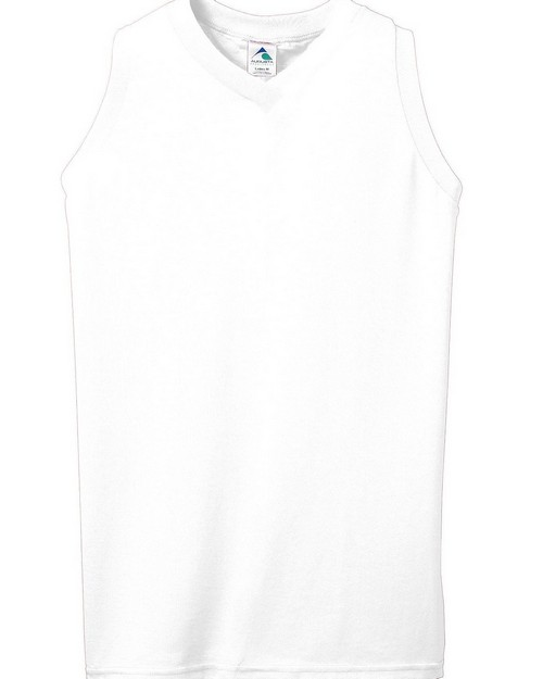 Augusta Sportswear 556 Ladies Sleeveless V Neck Shirt