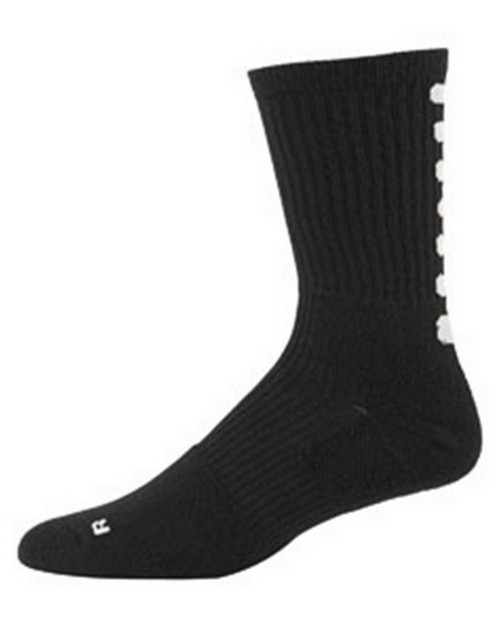 Augusta Sportswear 6091 Intermediate Colorblock Crew Sock (9-11)