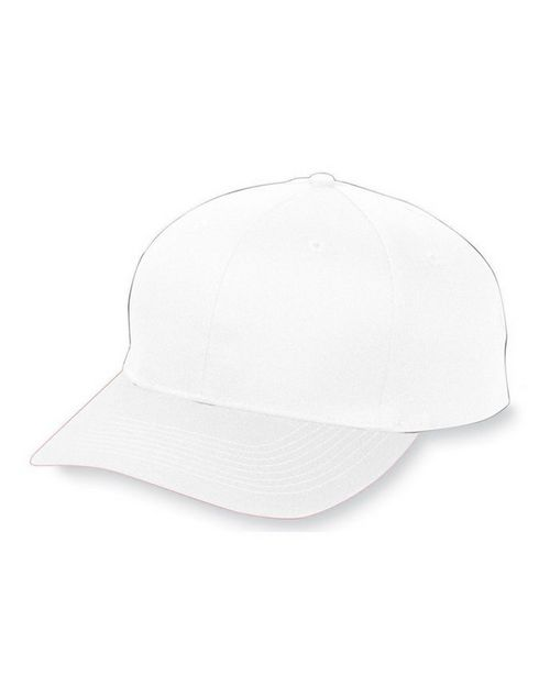 Augusta Sportswear 6206 Youth 6-Panel Cotton Twill Low Profile Cap