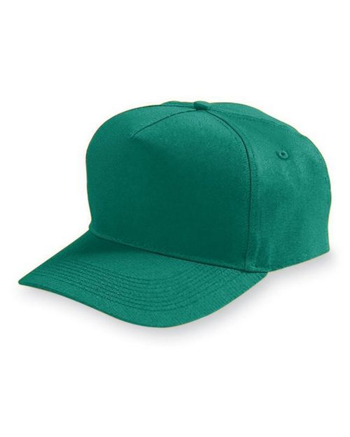 Augusta Sportswear 6207 Youth 5-Panel Cotton/Twill Cap