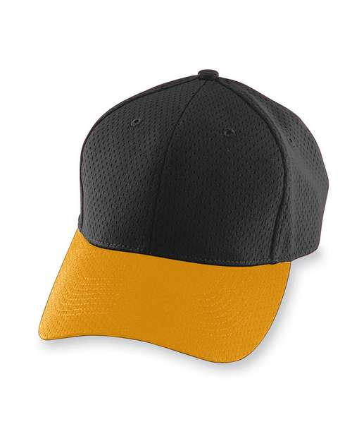 Logo Embroidered Augusta Sportswear 6235 Athletic Mesh Cap
