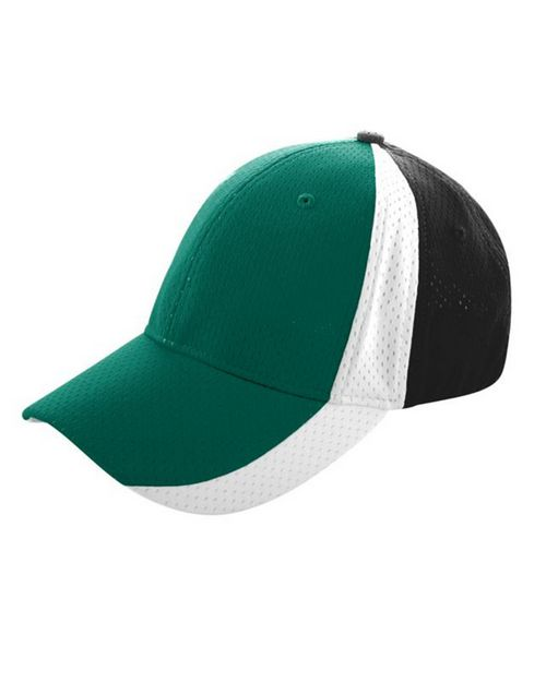 Augusta Sportswear 6247 Sport Flex 3-Color Athletic Mesh Cap