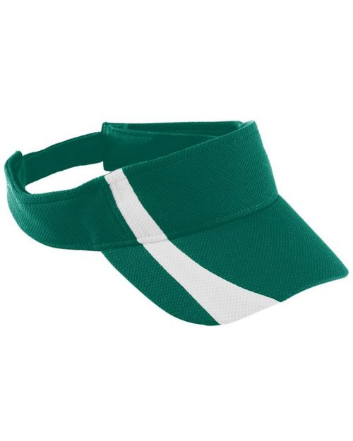 Augusta Sportswear 6260 Adult Adjustable Wicking Mesh Two-Color Visor