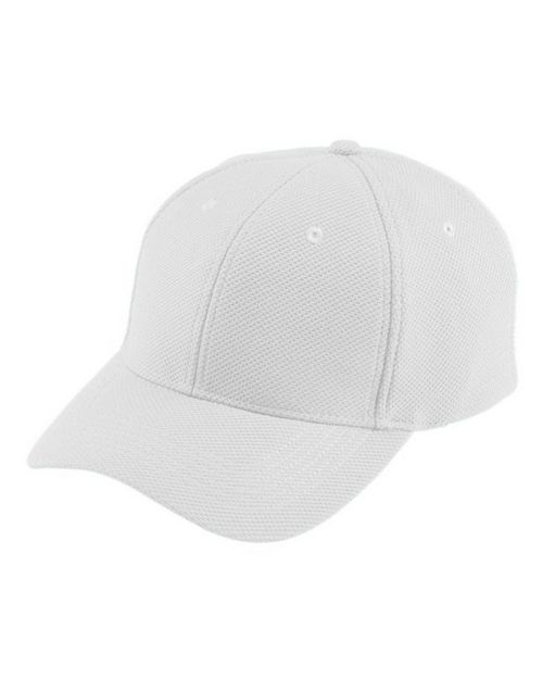 Logo Embroidered Augusta Sportswear 6266 Youth Adjustable Wckng Mesh Cap