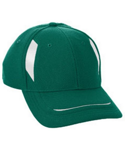 Augusta Sportswear 6270 Adult Adjustable Wicking Mesh Edge Cap