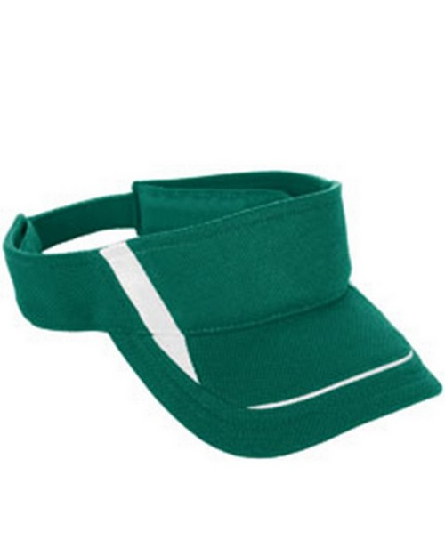 Augusta Sportswear 6275 Adult Adjustable Wicking Mesh Edge Visor