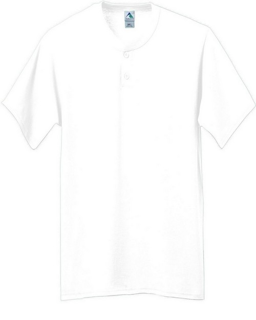 Augusta Sportswear 644 Six-Ounce Two-Button Baseball Jersey Youth
