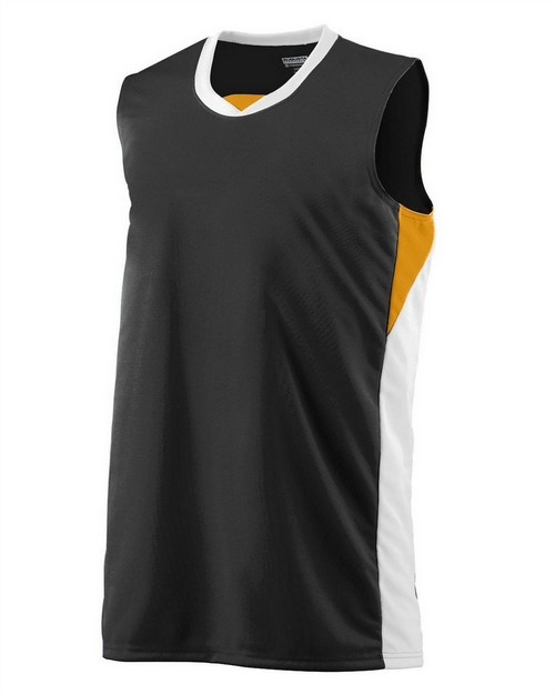 Augusta Sportswear 724 Youth Wicking Polyester Duo Knit Sleeveless Jersey
