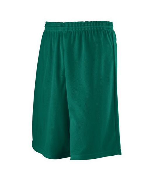 Augusta Sportswear 739 Youth Longer Length Mini Mesh League Short