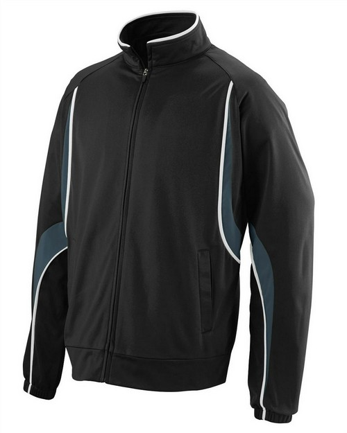 Augusta Sportswear 7710 Adult Polyester Brushed Tricot Jacket