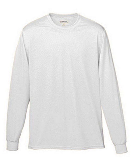 Augusta Sportswear 788A Adult Wicking Long Sleeve Tee