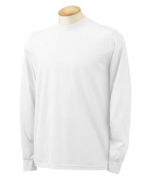 Augusta Sportswear 788 Polyester Moisture Wicking Long-Sleeve T-Shirt