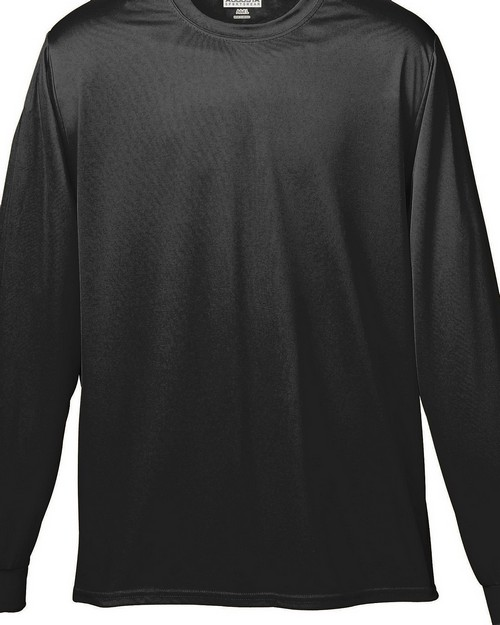 Augusta Sportswear 789 Youth Wicking Long-Sleeve T-Shirt