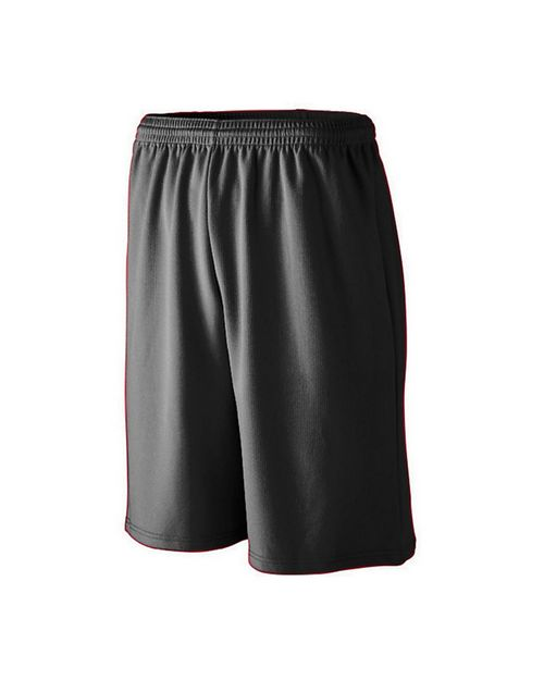 Augusta Sportswear 802 Long Length Wicking Mesh Athletic Short