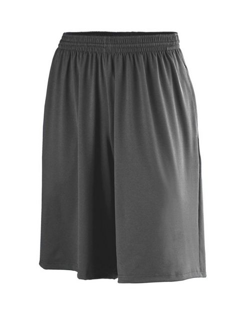 Augusta Sportswear 949 Poly/Spandex Shorts with Pockets