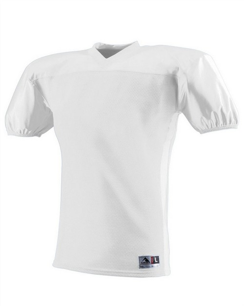 Augusta Sportswear 9511 Youth Polyester Diamond Mesh V-Neck Jersey with Dazzle Inserts
