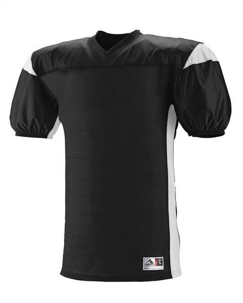 Augusta Sportswear 9520 Adult Polyester Diamond Mesh V-Neck Jersey with Contrast Dazzle Inserts