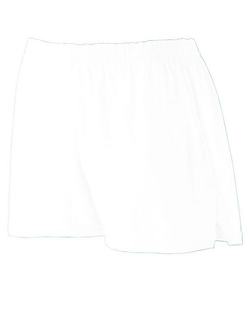 Augusta Sportswear 988 Girls Trim Fit Jersey Short