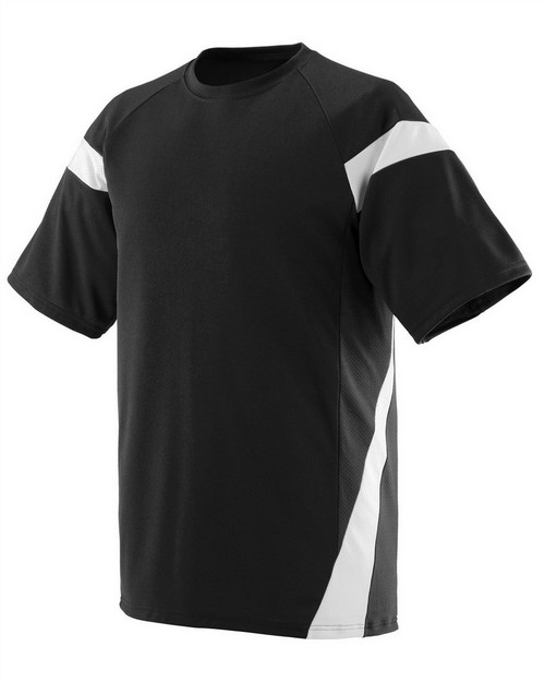 Augusta Sportswear AG1610 Adult Wicking Polyester Jersey with Contrast Short Sleeves