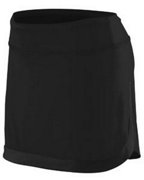 Augusta Sportswear AG2411 Girls Action Colorblock Skort