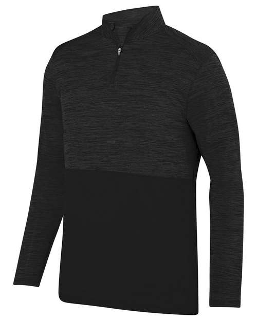 Augusta Sportswear AG2908 Unisex Shadow Tonal Heather 1/4 Zip Pullover