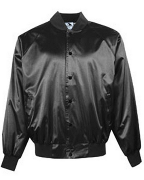 Augusta Sportswear AG3600 Adult Satin Baseball Jacket with Solid Trim