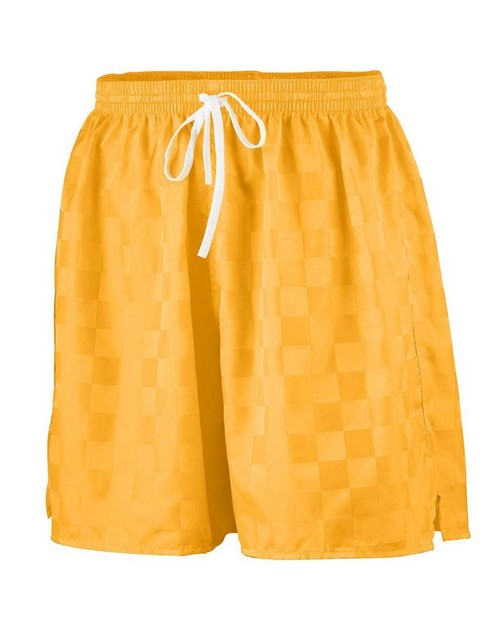 Augusta Sportswear AG431 Youth Long Length Checkerboard Nylon Soccer Short