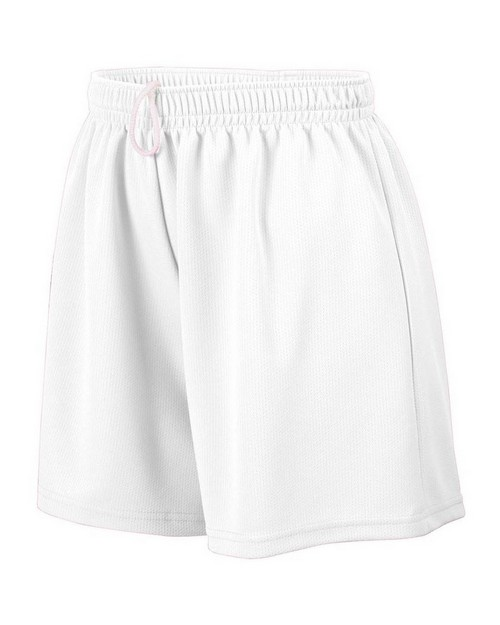 Augusta Sportswear AG960 Ladies Wicking Mesh Short