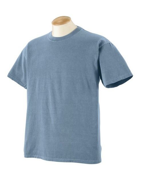 Authentic Pigment 1969Y Youth 5.6 oz. Pigment-Dyed & Direct-Dyed Ringspun T-Shirt