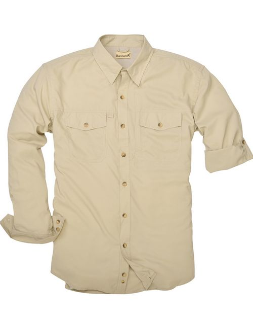 Backpacker BP7017T Mens Tall Expedition Travel Long-Sleeve Shirt