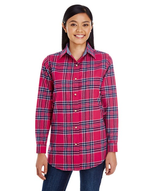 Backpacker BP7030 Ladies Yarn-Dyed Flannel Shirt