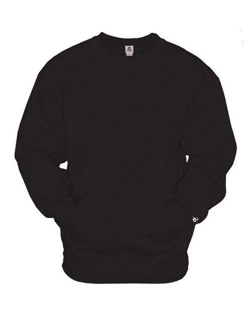 Badger 1252 Adult Athletic Fleece Pocket Crew Sweatshirt