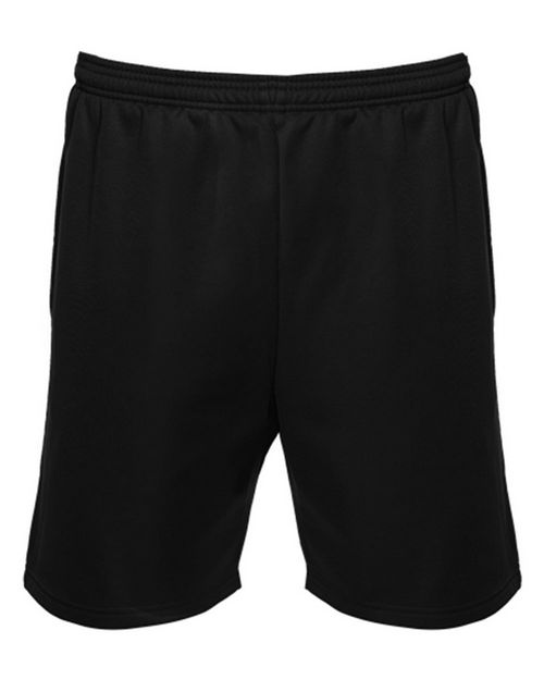 Badger 1407 Unisex Polyfleece 7 Inch Shorts