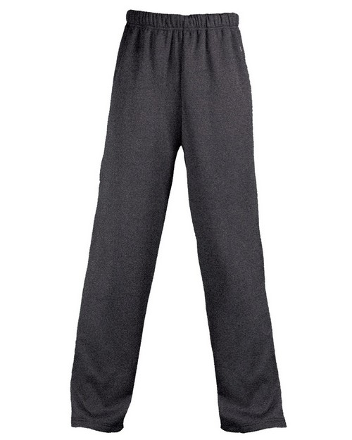 Badger 1479 Adult Pro Heathered Fleece Pant With Side Pockets