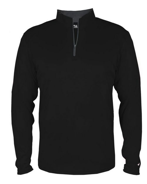 Badger 2102 B-Core Youth Quarter-Zip Pullover