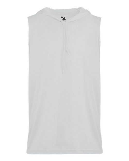 Badger 2108 Youth B-Core Sleeveless Hooded Tee