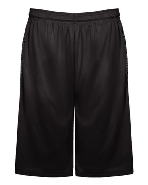 Badger 2168 Youth Tonal Blend Panel Shorts