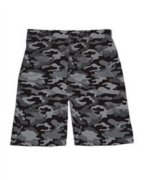 "Badger 2188 Youth Camo Sublimated 7"" Short"