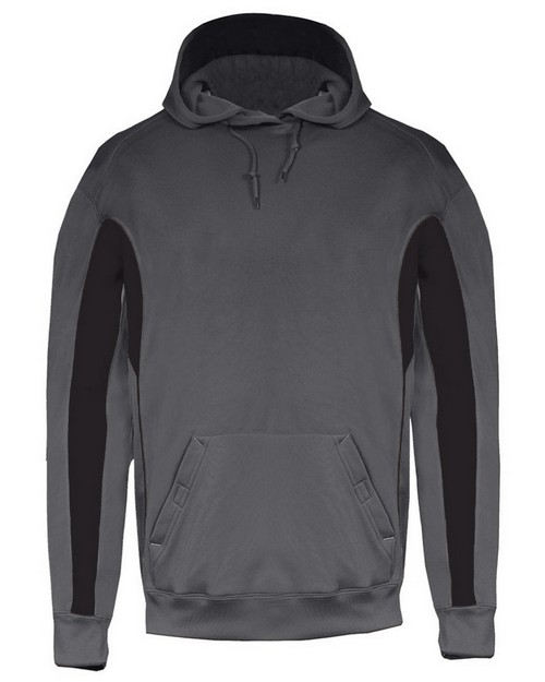 Badger 2465 Youth 100% Polyester Performance Fleece Drive Hoodie