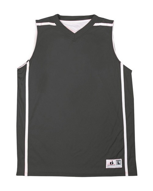 Badger 2552 Youth Reversible V-Neck B-Line Tank