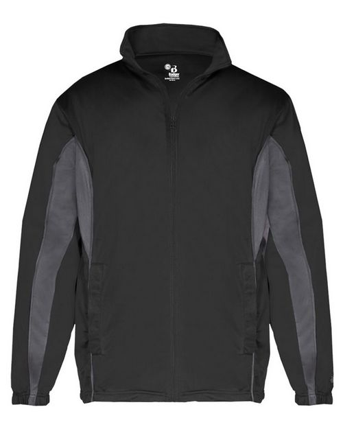 Badger 2703 Brushed Tricot Youth Drive Jacket