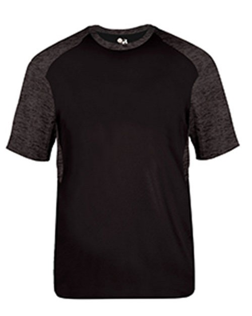 Badger 4178 Adult Tonal Blend Panel Short-Sleeve T-Shirt