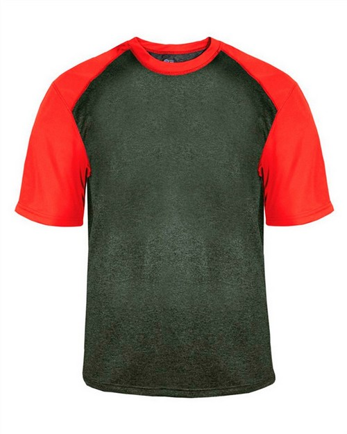 Badger 4341 Adult Sport Heather Tee