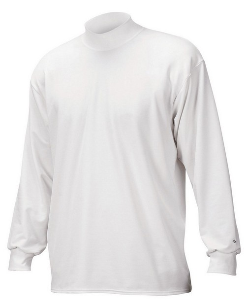 Badger 4755 Long Sleeve B Hot Heavyweight Mock
