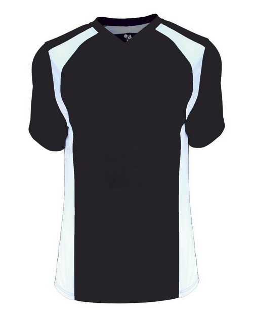 Badger 6171 B Core Ladies Triple Play Contrast Panel Athletic Jersey