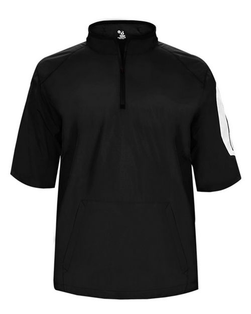 Badger 7642 Sideline Short Sleeve Pullover