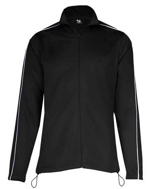 Badger 7901 Ladies 100% Polyester Razor Full Zipper Jacket