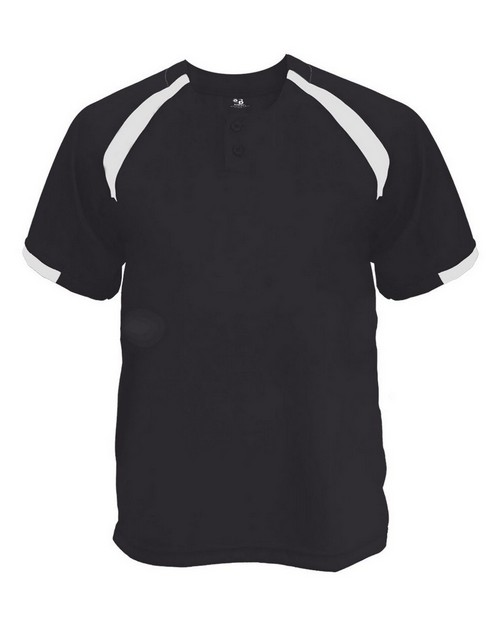 Badger 7932 B Core Adult Competitor Two Button Placket Jersey