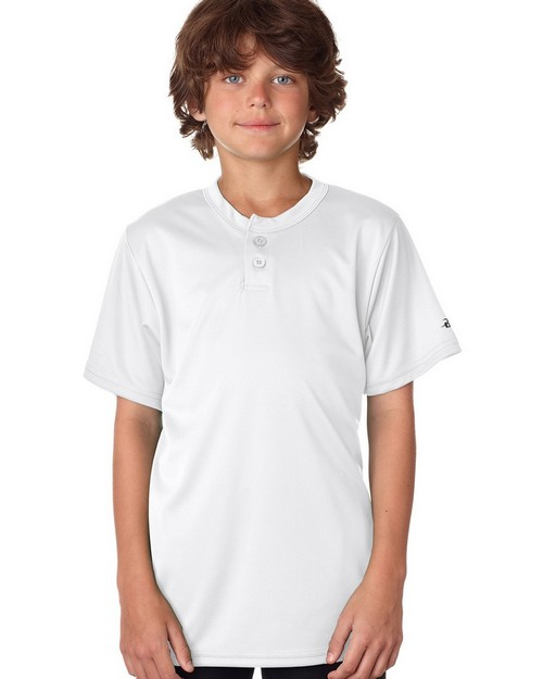 Badger B2930 Youth B-Core Henley Tee