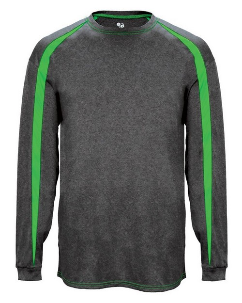 Badger B4350 Adult Fusion Long Sleeve Athletic Tee